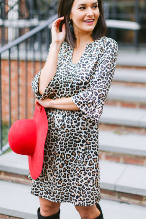 Stretchy Leopard Dress