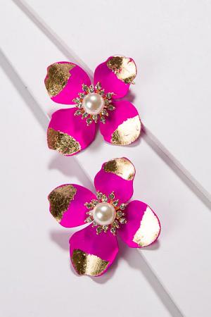 Gold Dip Flower, Pink
