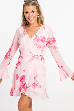 Sweet On Me Wrap Dress