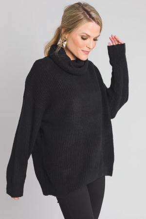 Black Sweater Turtleneck