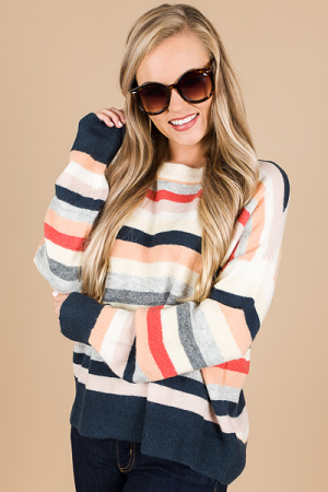 Matilda Multi Stripe Sweater