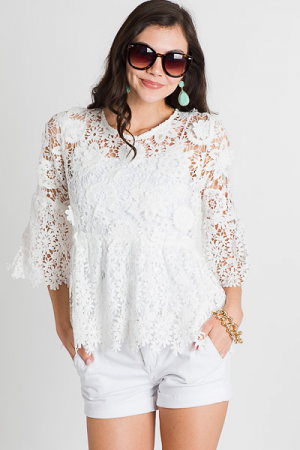 Kinzie Lace Top