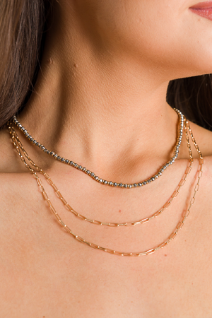 Kam Layered Necklace