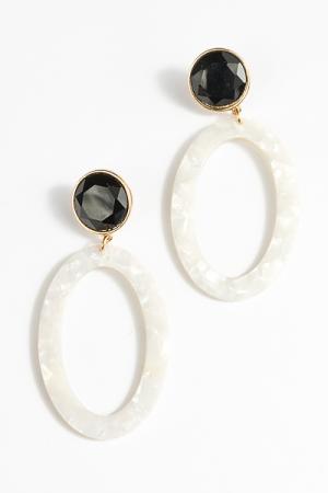 Domino Acrylic Earrings