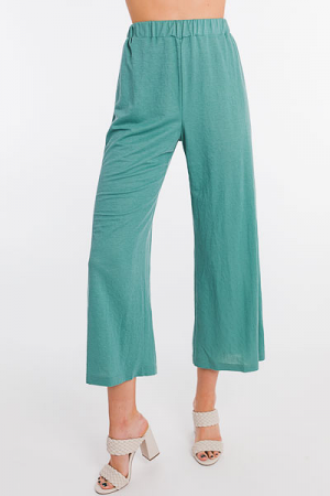 Seafoam Wide Leg Pants