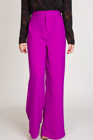 Sheen Queen Pants, Magenta