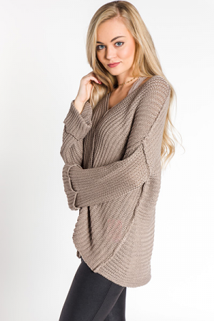 Mocha Me Crazy Sweater
