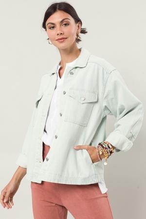 Oversize Denim Jacket, Light