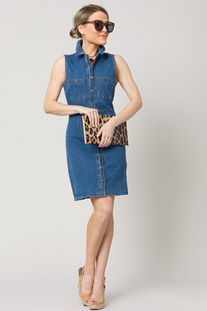Morgan Denim Dress