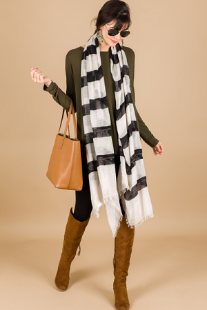Stripe All Day Scarf