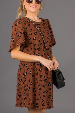 Velvet Spots Knit Dress