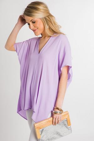 Classic Karlie Tunic, Lavender