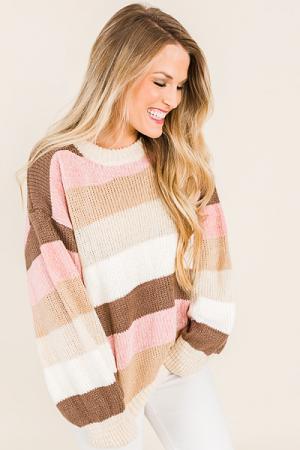 Strawberry Chenille Sweater