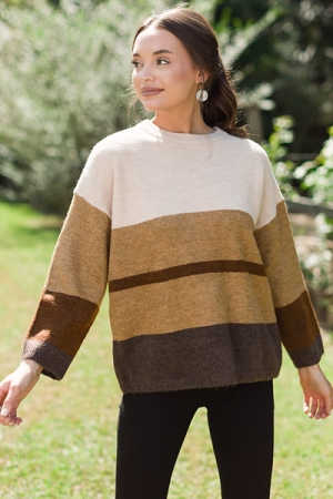 Coffee Shop Sweater, Natural