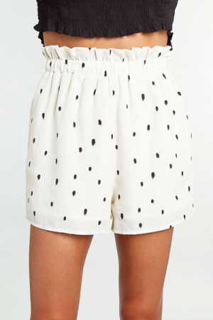 Willow Speckled Shorts, Ivory