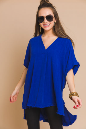 Middle Pleat Tunic, Royal