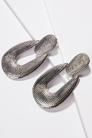 Silver Swing Earring