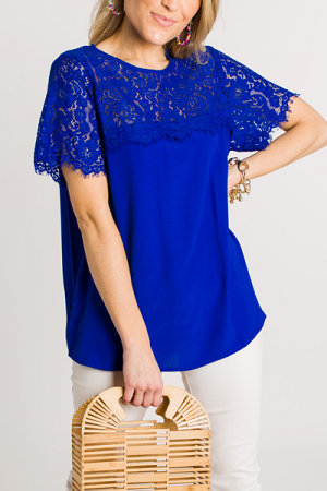 Royalty Lace Top