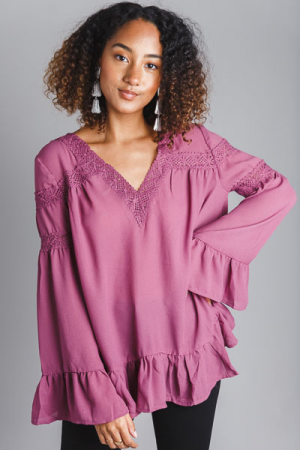 Emmaline Tunic, Purple