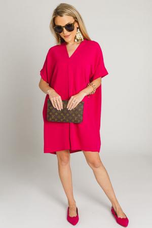 Classic Karlie Dress, Plum