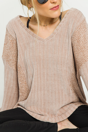Sugar and Spice Contrast Sweater