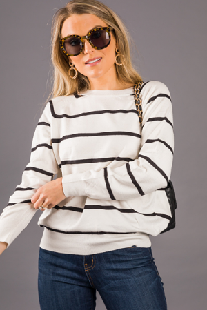 Closet Classic Sweater, Off White