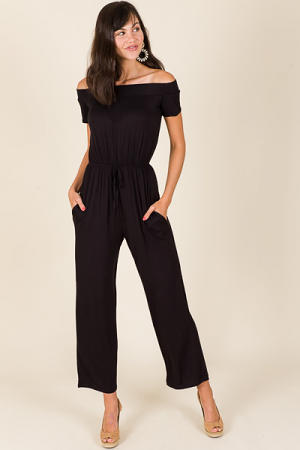 Faith Jumpsuit, Black