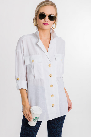 Always Classic Button Up