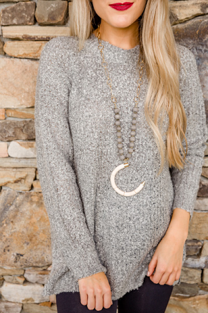 Mara Sweater, Grey