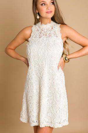 Send Off Dress, Cream