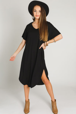 Cool Feeling Midi, Black
