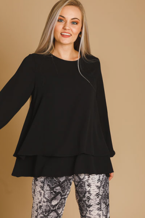 Bishop Blouse, Black