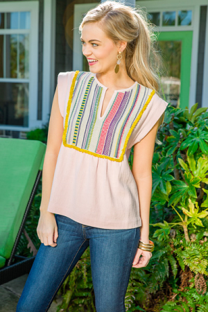 Pink Sunrise Top