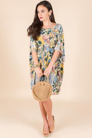 Bess Kimono Dress