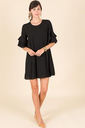 Cazzie Dress, Black