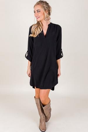 Simplicity Dress, Black