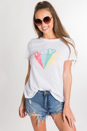 Rainbow Love Graphic Tee