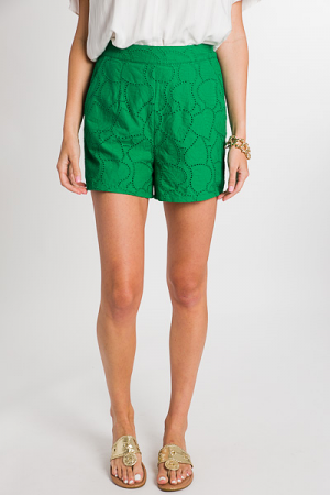 Green Leaves Shorts