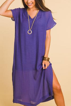 Violet Maxi Dress