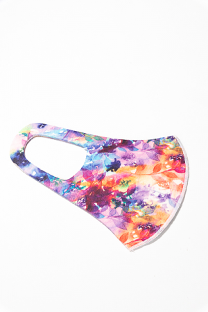 Scuba Mask, Purple Multi