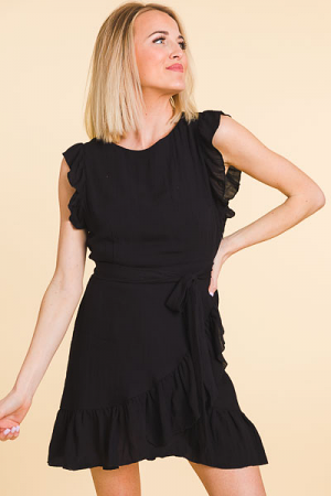 Flatter Me Ruffle Dress