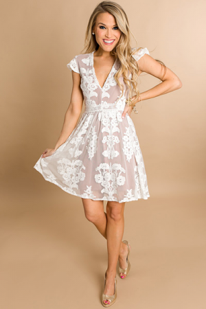 Dream Girl Dress, Nude