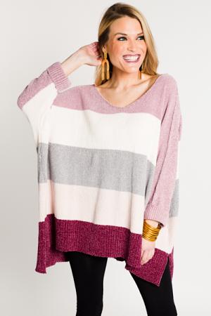 Valentine Chenille Sweater