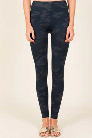 SPANX Camo Leggings, Black