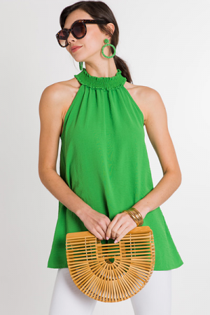 Smock Around Frock, Green