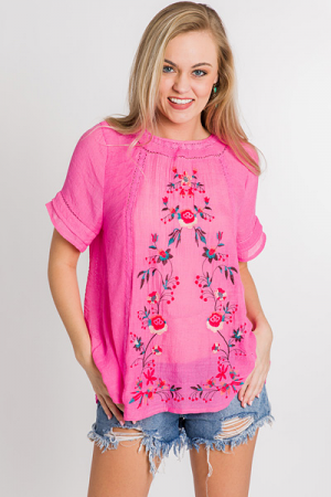 Meadow Muse Top, Pink