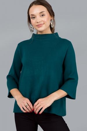 Audrey Sweater, Teal Green