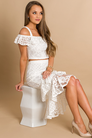 Summer Bride Skirt Set