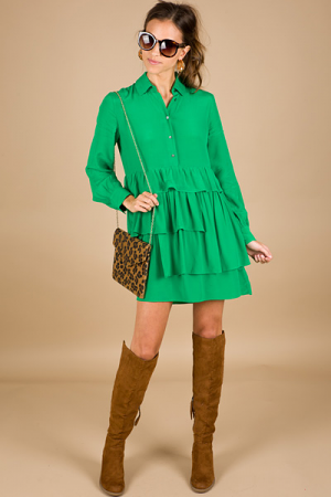 Girl Crush Dress, Green