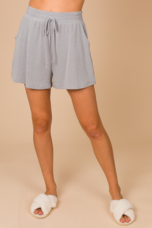 Soft Shorts, Solid Gray